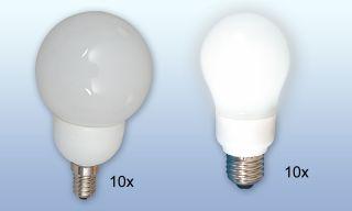 Leuchtmittelpaket Energiespar
