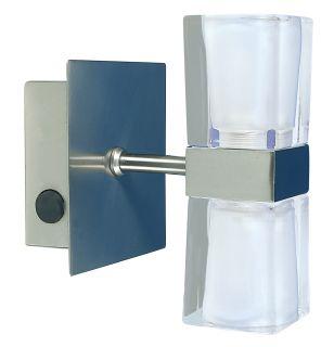 "Glas Wandleuchte ""Icecube"""