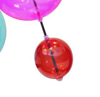 1 x Glasball - klein rot - zu 7026461