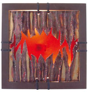 """Wandbild """"Fire"""" s: 30,5 cm"""