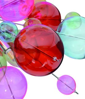 1 x Glasball - groß rot - zu 7026461
