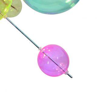 1 x Glasball - klein pink - zu 1085161