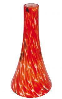Glas aus der Serie Individuum, rot, Höhe 30 cm, d: 15 cm
