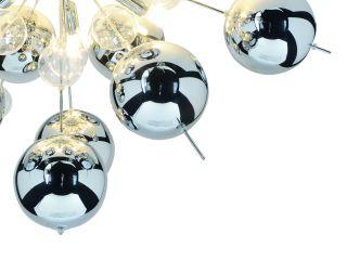 1 x Glasball - groß chrom - 1085142