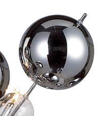 1 x Glasball - groß chrom - 7026442