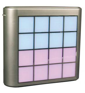 LED Würfel mit Farbwechsler - groß-