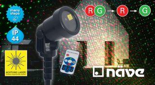Laser-Außenerdspieß m. Projektor
