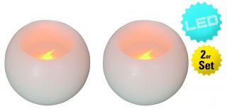 2er Set LED-Deko-Kerze
