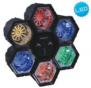 "Disco-LED-Lichtorgel 6er ""Disco"""