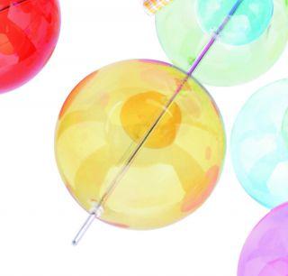 1 x Glasball - gelb groß - zu 1085161
