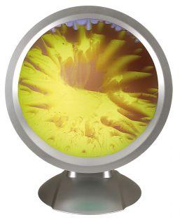 """Ölbildscheibe """"Vista"""" braun/gelb"""