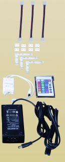 Anschlußset mit Fernbedienung und RGB für LED Stripe 9000161