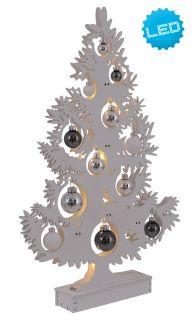Deko-Baum h: 50cm weiß