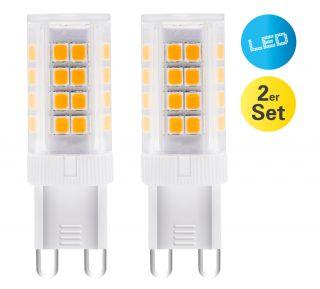"LED-Leuchtmittel G9/4W 2er-Set ""Mina"""