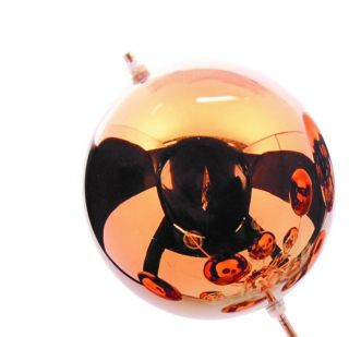 1 x Glasball - groß kupfer - zu 3073247