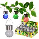 """4er-Set LED-Outdoor-Solarpendelleuchte """"Crackle Ball"""""""