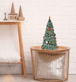 Weihnachtsbaum-Spieluhr, h: 30 cm