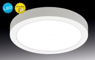"LED Aufbaupanel dimmbar ""Dimplex"" d:30cm"