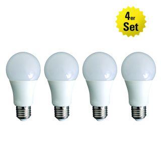 LED Leuchtmittel E27/9W 4er-Set