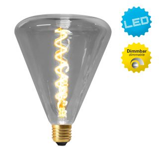 "LED Leuchtmittel ""Dilly"" E27/4W grau"