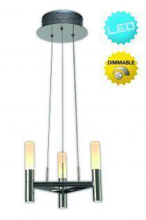 """LED-Krone 3flg. d: 28,4cm Up/Down """"Castle"""""""