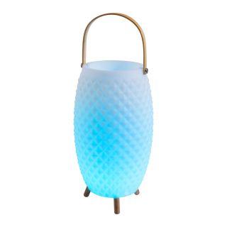 LED Deko-Leuchte (Sektkühler) + BT Lautsprecher h: 60cm incl. Griff