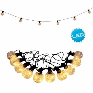 "LED-Lichterkette ""Crackle Chain"" warmweiß 4,5m"