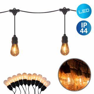 "LED-Lichterkette ""Chain Bulb"" warmweiß 270cm"
