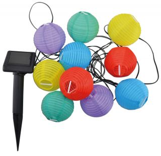 LED-Lichterkette Lampion