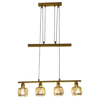 """LED-Gegenzugpendelleuchte """"Josefa"""" E14 Filament"""