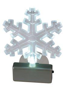 Fensterbild LED-Schneeflocke