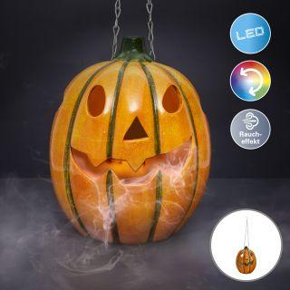 "Pendelleuchte mit LED + Nebler""Halloween"""