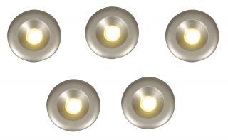 5er Set LED Einbauspots
