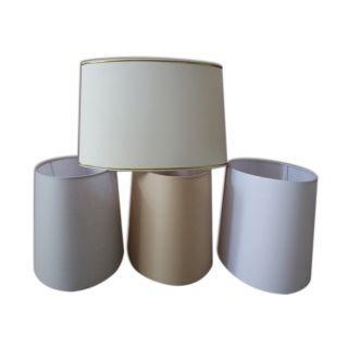 Lampenschirm oval für Tischleuchten