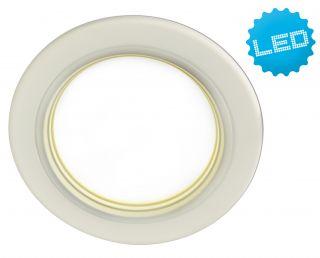 """LED- Deckeneinbauleuchte """"Point"""" d: 12,5cm"""