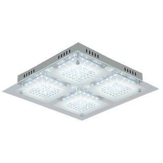 """LED Deckenleuchte """"Chur"""" mit Kristalleffekt"""