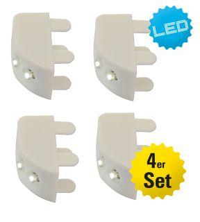 LED Schrankbeleuchtung 4er Set