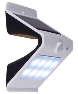LED Solarwandleuchte mit Bewegungsmelder