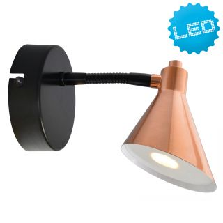 LED Wandleuchte Copper