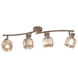 """4er-LED Spot """"Josefa"""" E14 Filament"""