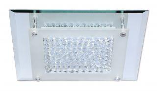 """LED-Deckenleuchte mit Kristallen """"Oxford"""
