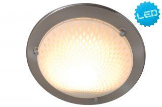 LED-Glasdeckenleuchte d:30cm