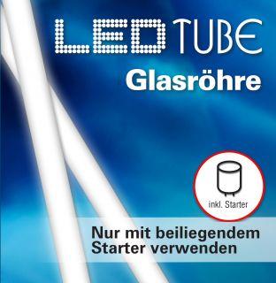 LED-Leuchtröhre aus Glas