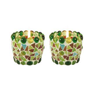 Mosaik-Teelichtschale
