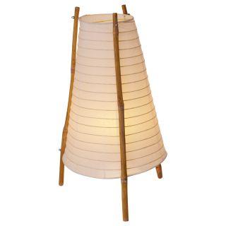"""Papier-Tischleuchte """"Bamboo"""""""