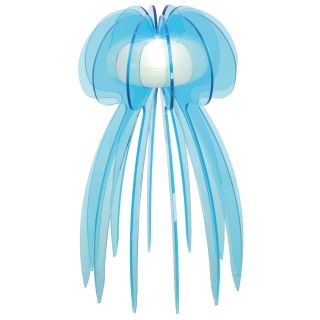 """LED Tischleuchte """"Jellyfish"""" h:30cm türkis"""